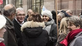 Demo gegen Hauptpost-Schliessung