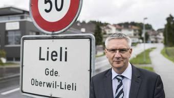 Gemeindeammann Andreas Glarner war in Oberwil-Lieli schneller unterwegs als erlaubt.