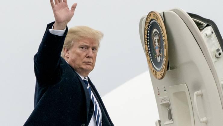 Donald Trump hat offenbar einen guten Preis  für die neue Präsidentenmaschine ausgehandelt. (Archiv)