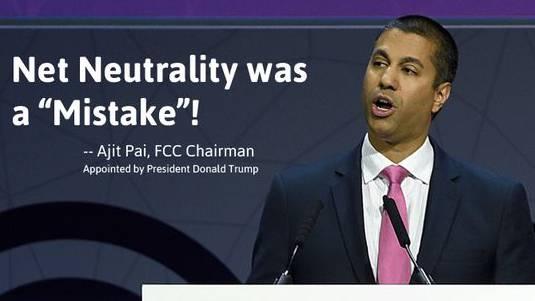 Der von Trump ernannte Präsident der US-Kommunikationsbehörde, Ajit Pai, will Obamas Regeln zur Netzneutralität abschaffen.