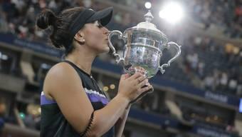 Hat mit 19 Jahren das US Open gewonnen: Die Kanadierin Bianca Andreescu.