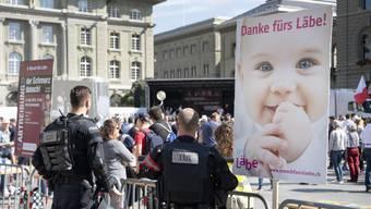 Marsch fürs Läbe 2018 in Bern