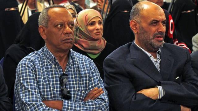 Vertreter politischer Parteien im Jemen