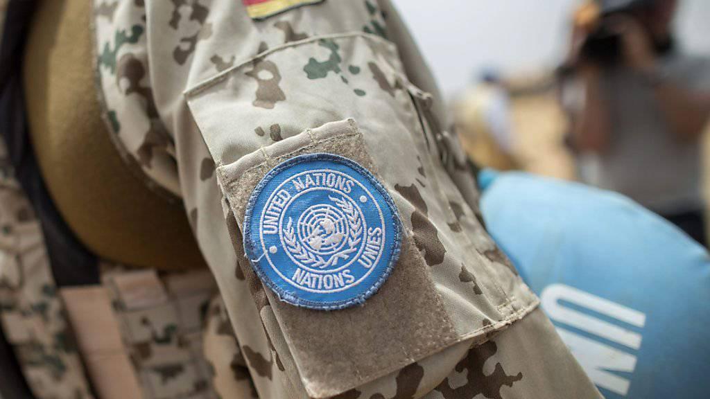 Uno-Konvoi in Mali fährt auf Mine