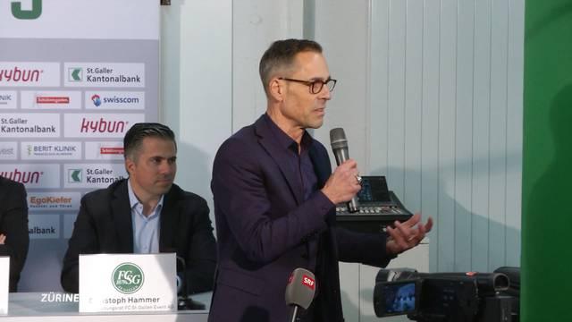 Matthias Hüppi wird FCSG-Präsident