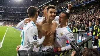 Cristiano Ronaldo und seine Real-Kollegen fordern am Mittwoch im Halbfinal-Knüller Bayern heraus