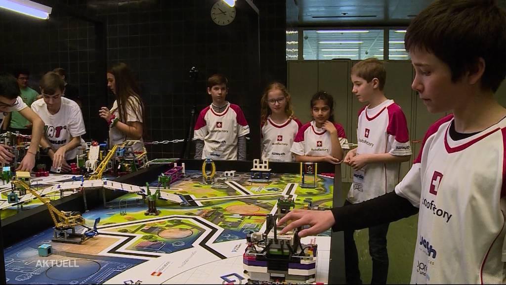 LEGO-League: Roboter-Wettkampf in Windisch