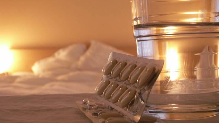 Zu oft konsumiert in der Schweiz: Schlafmittel.