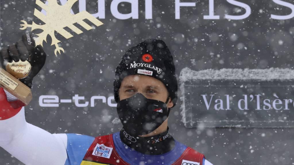 Nur die Maske verhindert, dass man Mauro Caviezels Strahlen sehen kann