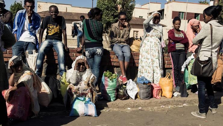 Besonders Fälle von heimreisenden Flüchtlingen aus Eritrea sorgen für Diskussionen. Im Bild: eine Haltestelle in der eritreischen Hauptstadt Asmara.