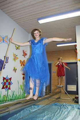 Die Kleinen Artisten beim Circolino Pipistrello in Unterlunkhofen
