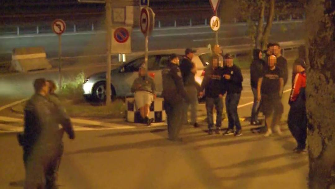 Sion-Hooligans  attackieren Servette-Bus