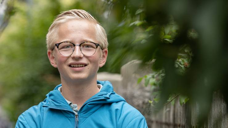 Nico Zobrist (18) hat letztes Jahr als Nationalrat kandidiert und will nun in den Grossen Rat.