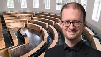Pascal Benz will Einwohnerratssitzungen auch virtuell abhalten.