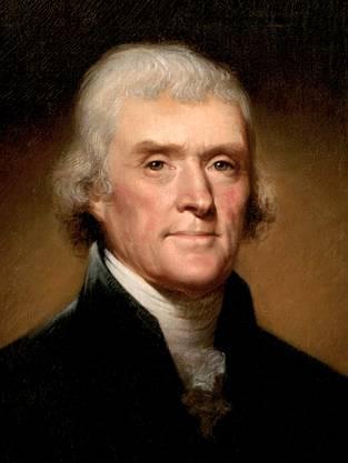 Jefferson war der erste Präsident, der eine militärische Auseinandersetzung ausserhalb der eigenen Grenzen führte.