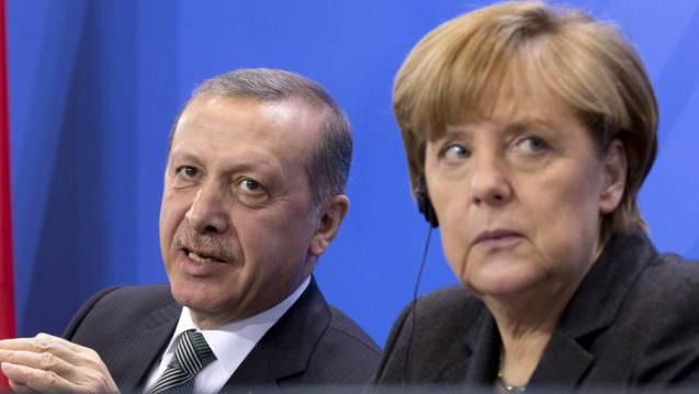 Präsident Erdogan und Kanzlerin Merkel. (Archiv)
