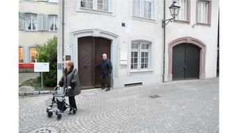 In Aarau dürfen Sie sich äussern zu einem Baukredit für die Sanierung der Station Milchgasse im Pflegeheim Golatti. (Im Bild)
