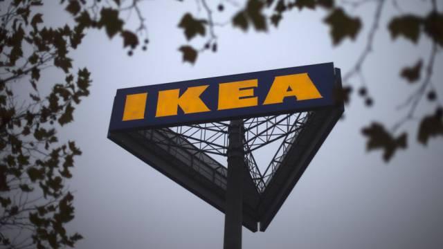 Das Logo des weltgrössten Möbelhändlers Ikea
