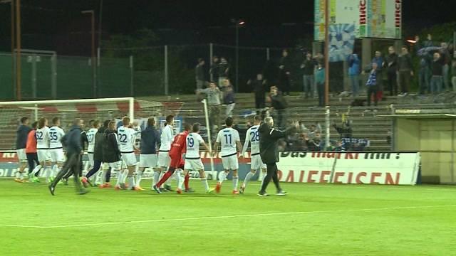 Aarau verliert Derby gegen Wohlen