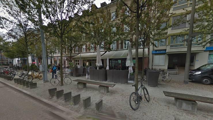 Riehenring: In dieser Strasse ist es am Samstag gegen 4 Uhr zu einer Auseinandersetzung gekommen..JPG