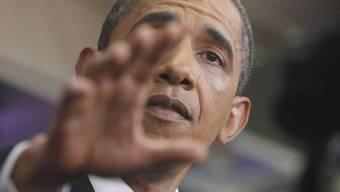 US-Präsident Barack Obama verhandelte erfolglos mit der Opposition