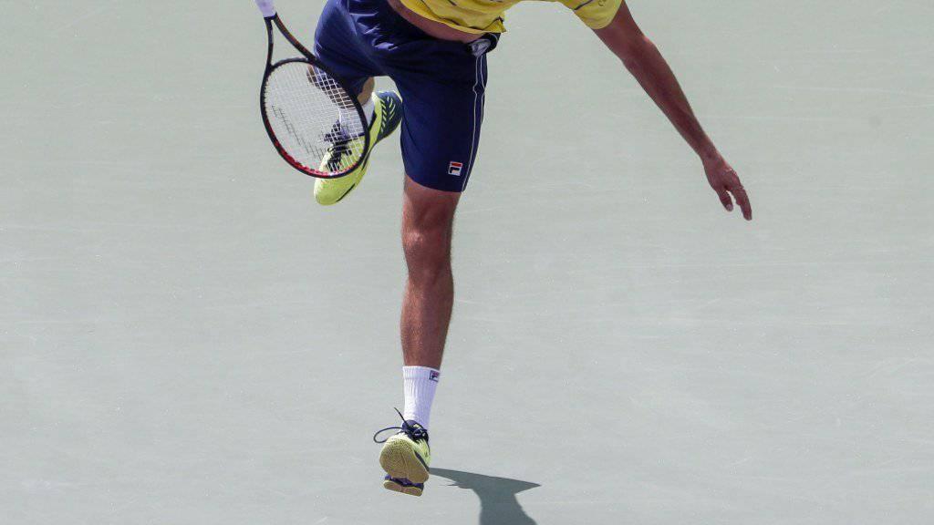 Derzeit nur ein Schatten seiner selbst: Australian-Open-Finalist Marin Cilic