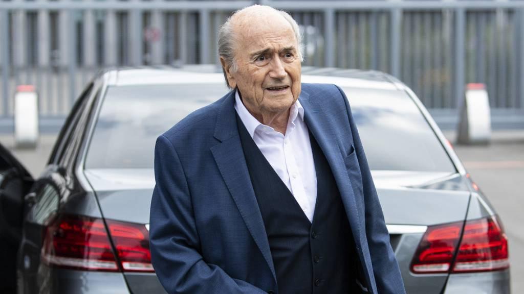 Ex-Fifa-Boss Sepp Blatter ist im Spital