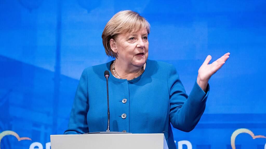 Merkel sieht Wahlausgang in Deutschland weiter völlig offen