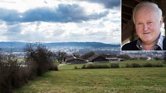 Ernst Beyeler, Landwirt in Oberflachs, gehört zu den heftigsten Kritikern des Verkaufs der «Juraweid» an Pro Natura.