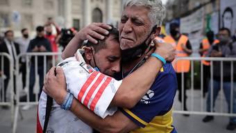 Grosse Trauer in Buenos Aires: Noch am Donnerstag soll Diego Maradona beerdigt werden