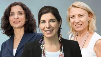Gabriela Suter und Simona Brizzi wollen nicht Regierungsrätin werden. Bei Yvonne Feri ist es wieder offen.