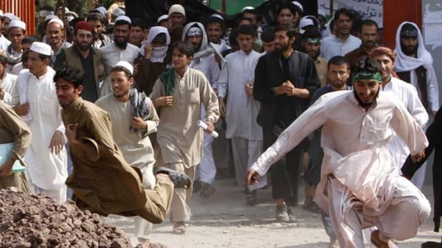 Das geplante Partneraschaftsabkommen zwischen den USA und Afghanistan löste in der Provinu Nangarhar Demonstrationen aus (Archiv)
