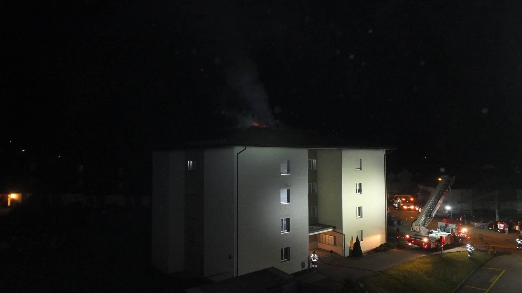 Der Brand brach kurz vor 5 Uhr aus.