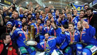Eindrücke vor und während dem Eishockeyspiel zwischen dem SC Langenthal und dem HC Lausanne