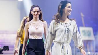 Letzte Vorbereitungen vor Miss-Schweiz-Wahl