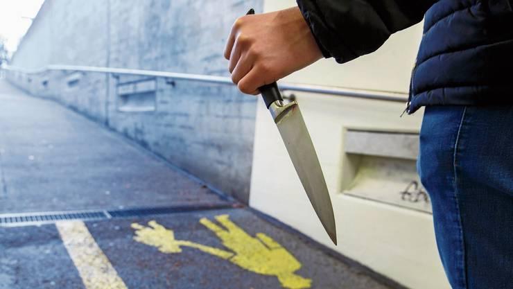 Der mutmassliche Täter der Messerattacke vom Montagabend im Gundeli wurde festgenommen. (Symbolbild)