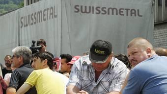 Mitarbeiter der Swissmetal Dornach