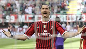 Zlatan Ibrahimovic stand schon einmal bei der AC Milan unter Vertrag.