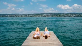 Der Zürichsee ist auch ein Trinkwasserreservoir. Der Streit um das neue Wassergesetz dreht sich im Kern um die Zukunft der Wasserversorgung. Keystone