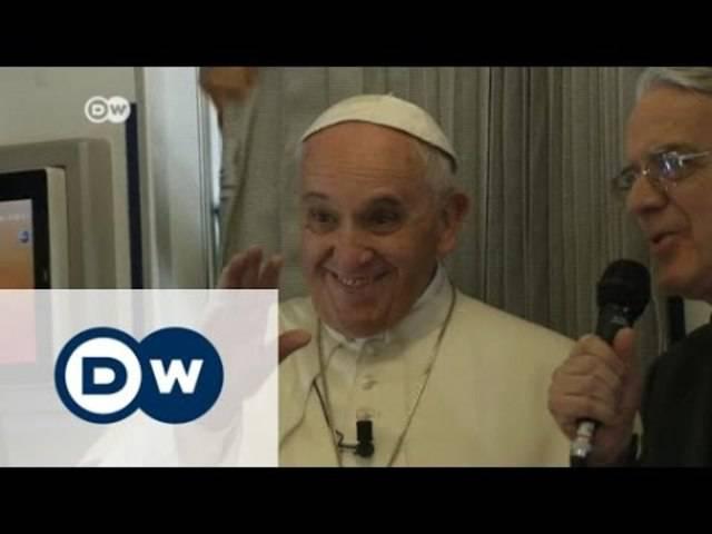 Papst: Meinungsfreiheit hat Grenzen