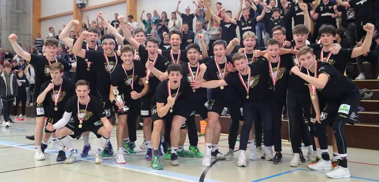 ....es ist das erste Mal, dass das Handball Nordwest - Leistungszentrum auch in der ältesten Juniorenkategorie triumphieren kann.