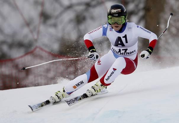 Lara Gut führt den Weltcup mit 38 Punkten Vorsprung vor Lindsey Vonn an.