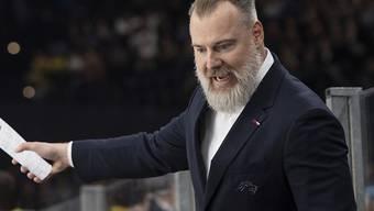 Der neue Trainer Rikard Grönborg startete mit den ZSC Lions erfolgreich in die Saison