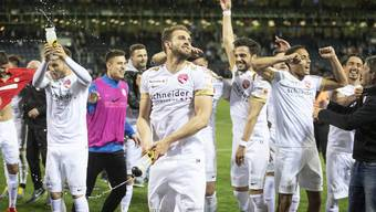 Nach dem 1:0 gegen den FCL herrscht Feststimmung bei den Thunern.