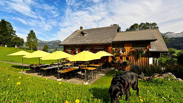Die Gade Lodge in Unterwasser ist Ausgangspunkt für diverse Wanderziele im Toggenburg.