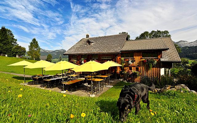 Die Gade Lodge ist Ausgangspunkt für diverse Wanderungen im Toggenburg. ©Toggenburg Tourismus