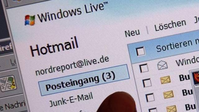 Der E-Mail-Dienst Hotmail wird aufgepeppt (Symbolbild)