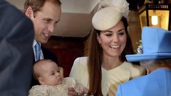 Das Prinzensöhnchen George reist nach Down Under (Archiv)