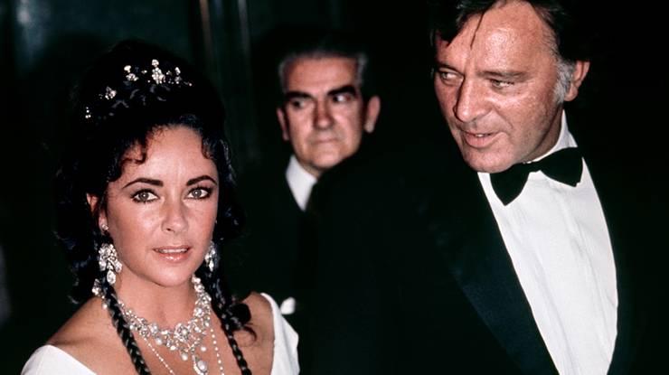 Die Ehekrach-Genies: Elizabeth Taylor und Richard Burton.