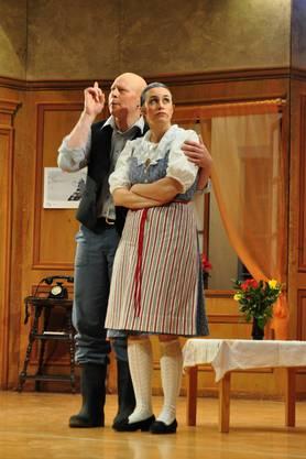 Das Kolping-theater in Dietikon führte das Stück Viktor in Nööte auf
